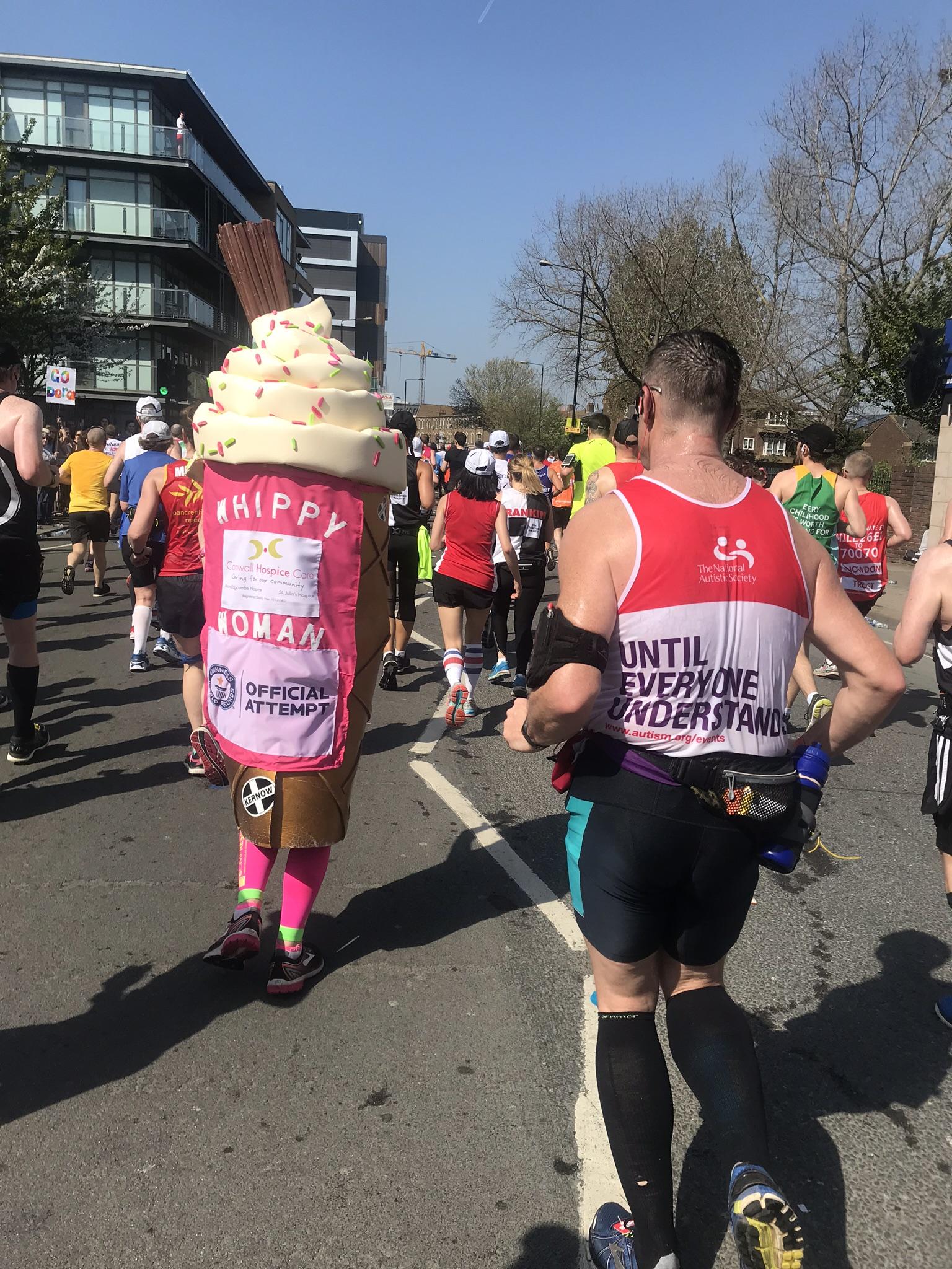 Лондонский марафон глазами его участницы
