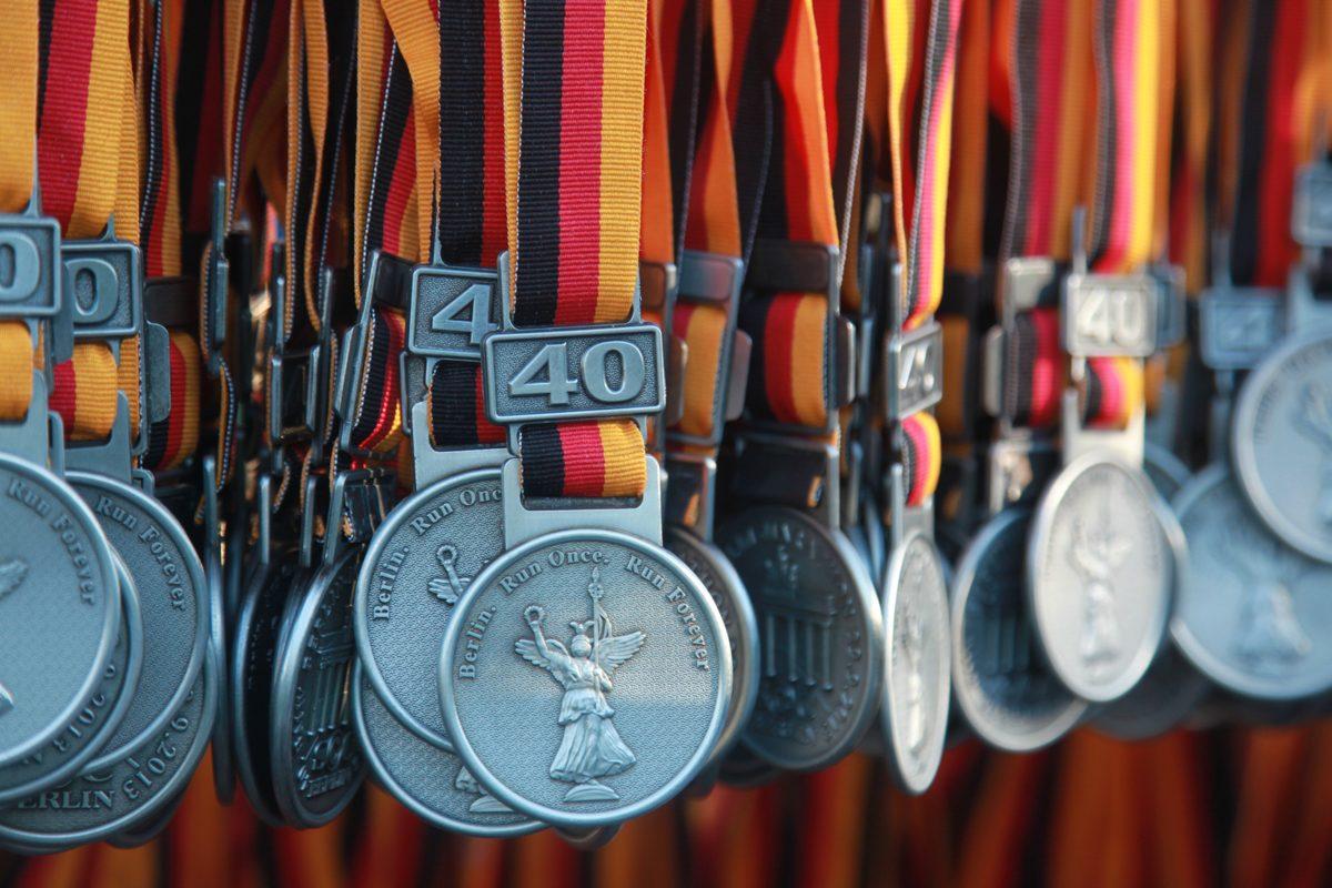 Берлинский марафон: медали
