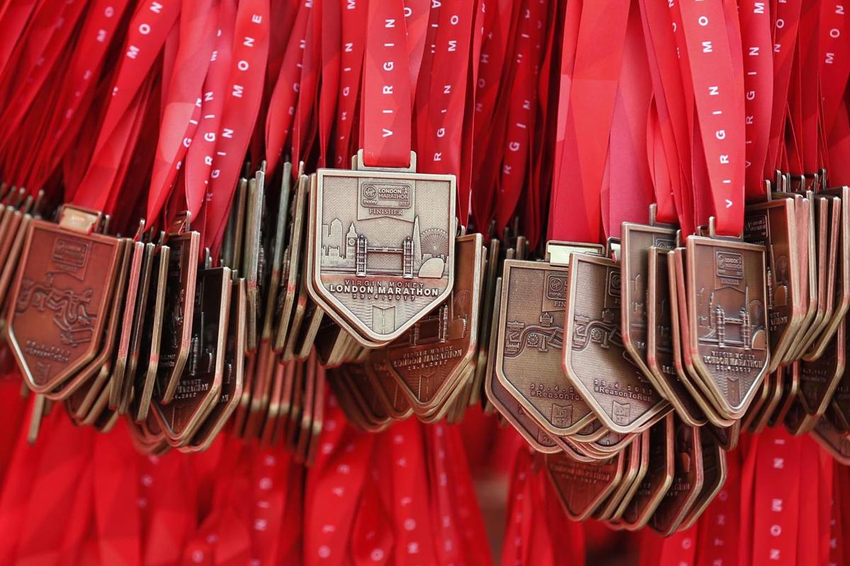 Лондонский марафон: медали