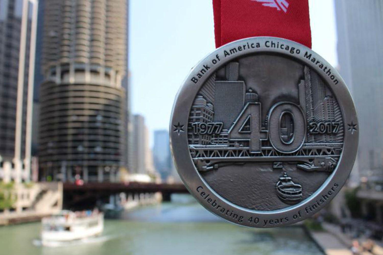 Чикагский марафон: медаль