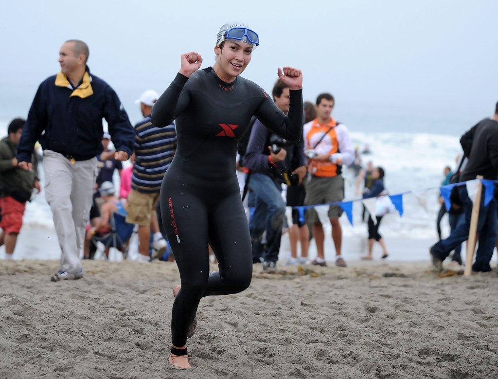 Дженнифер Лопес финишировала на триатлоне