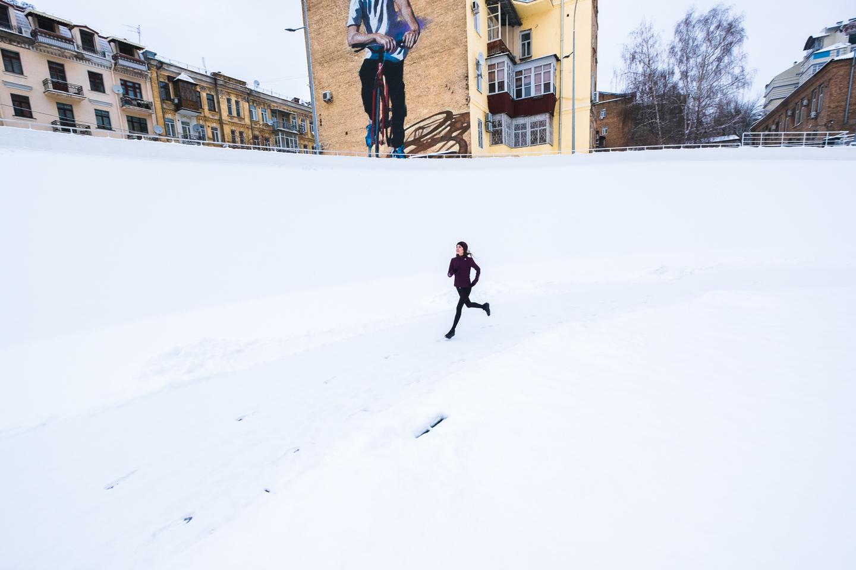 Преимущества зимнего бега