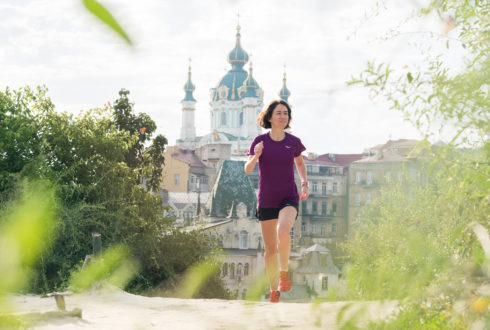 Беговые места центра Киева: тест от Saucony и Ногибоги