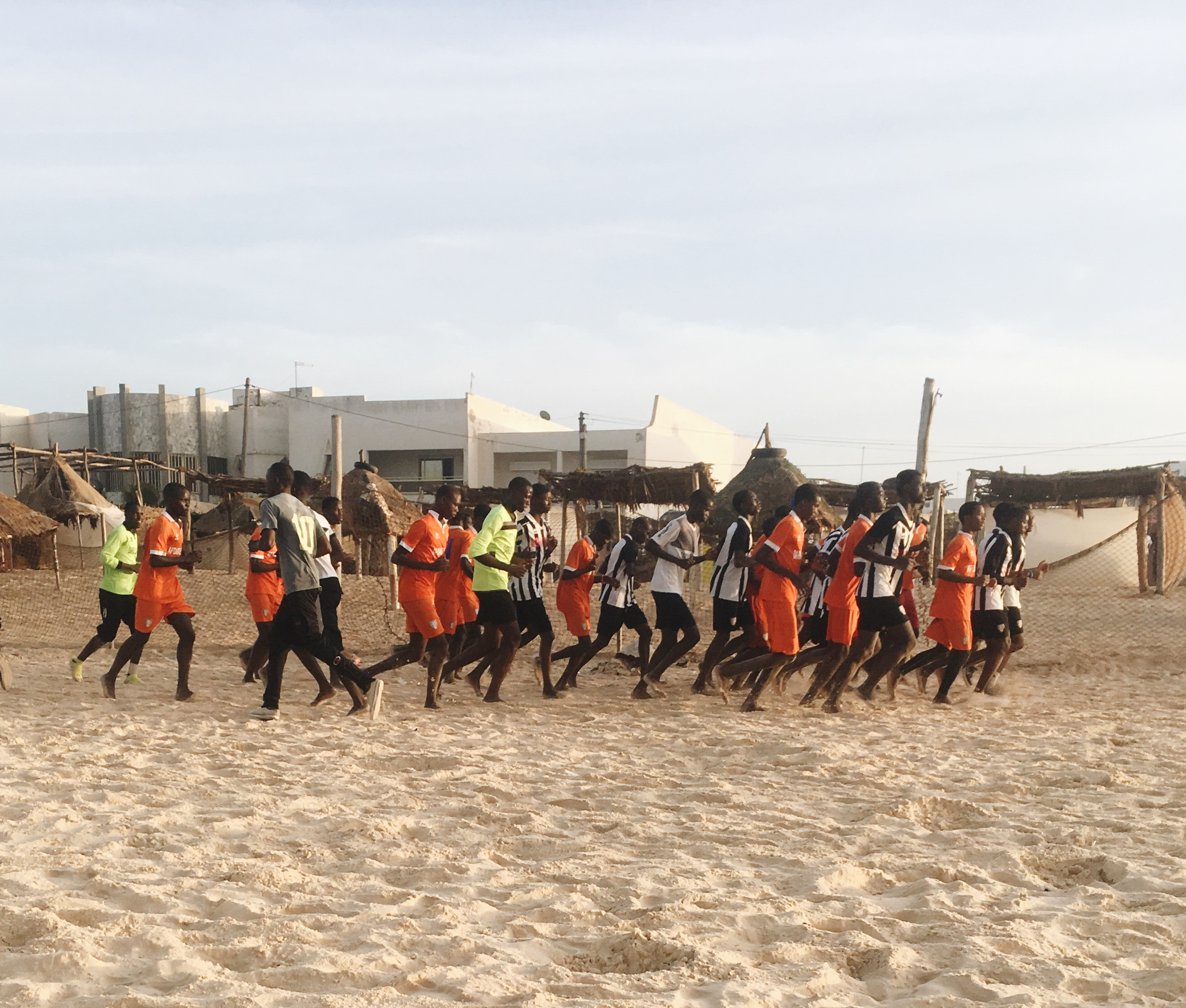 Как это вообще: бегать в Сенегале
