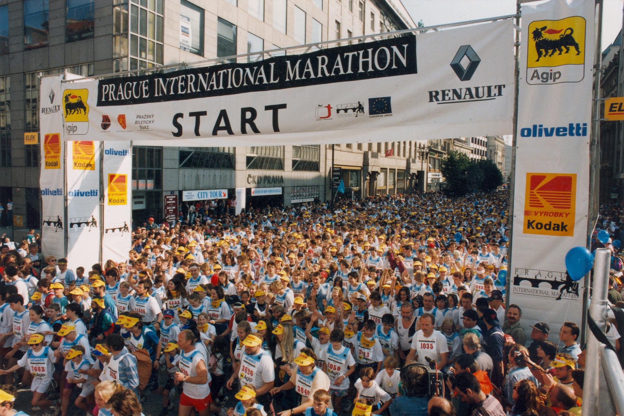 История Пражского марафона