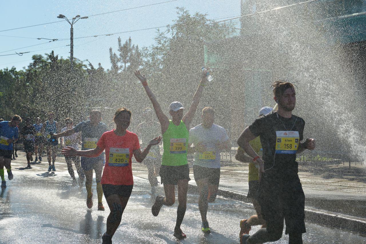 Как выжить на забеге в жаркую погоду