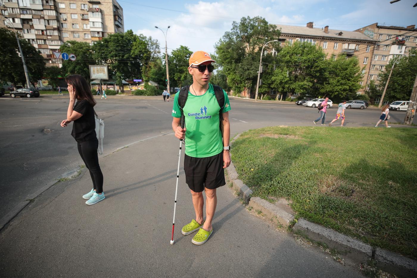 Біговий клуб Guide Runner: навчитися бачити за двох