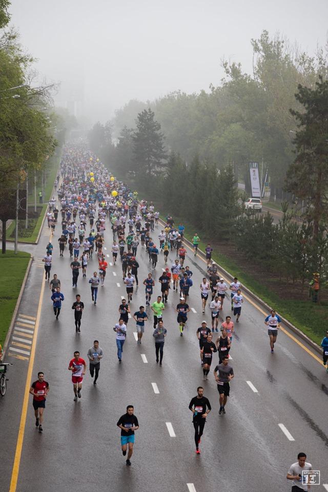 Отчёт о марафоне в Алматы