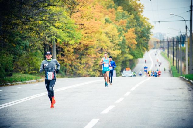Обзор трассы Zaporizhstal Half Marathon