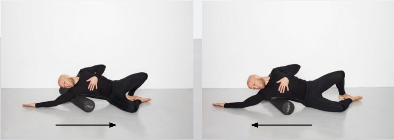 Подборка упражнений с фоам-роллером