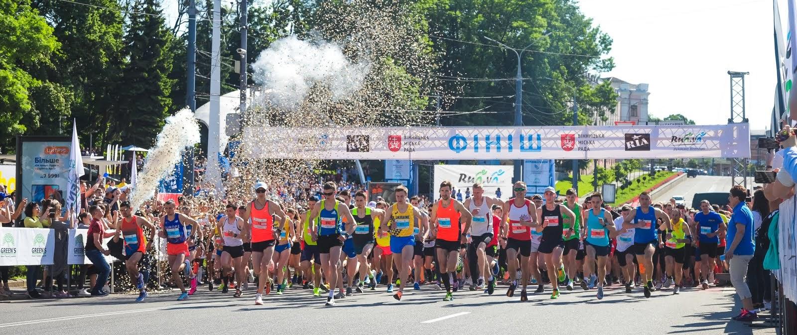 Календар бігових стартів України на липень-серпень 2021