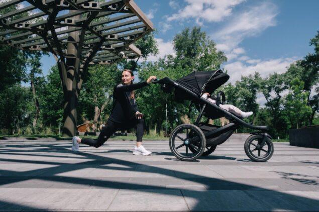 Де в Києві зручно бігати з дитячою коляскою